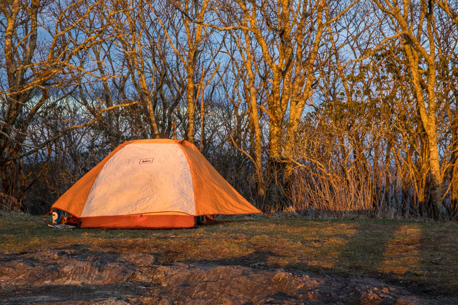 Standing Indian Mountain summit campsite