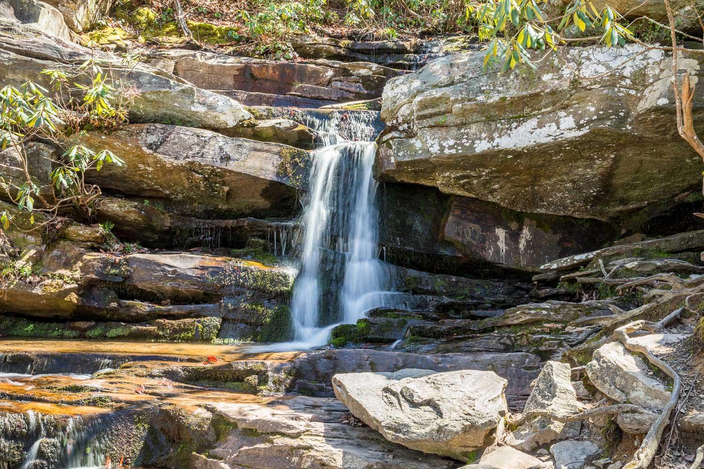 Hidden Falls at Hanging Rock