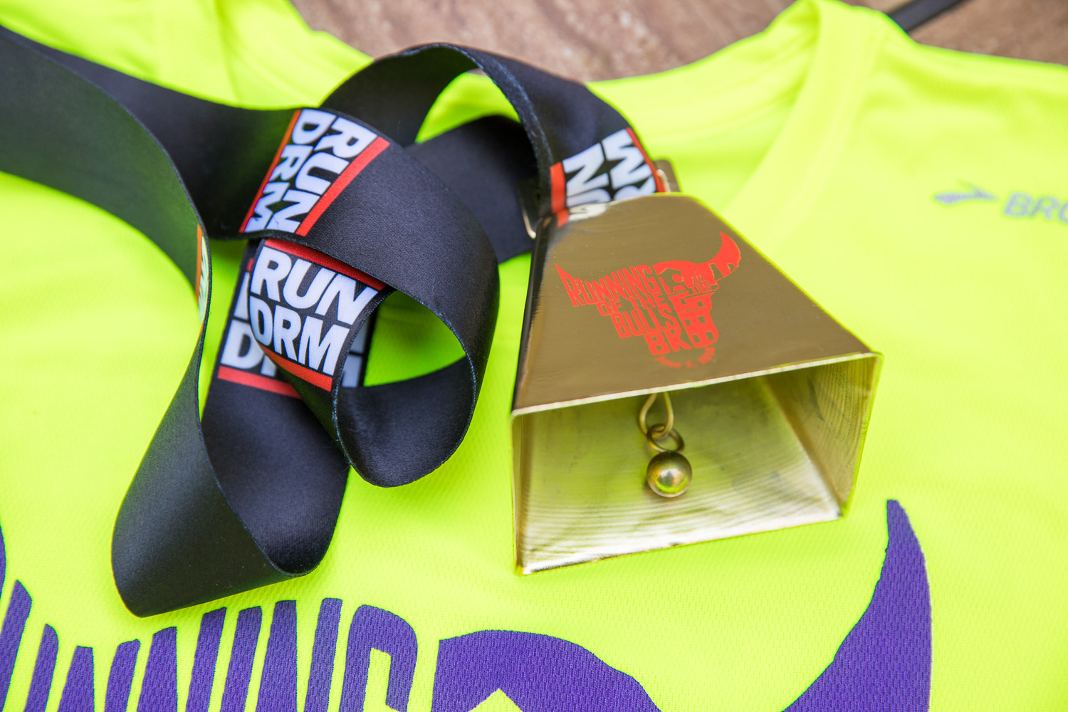 Running of the Bulls 8K 2018 race medal