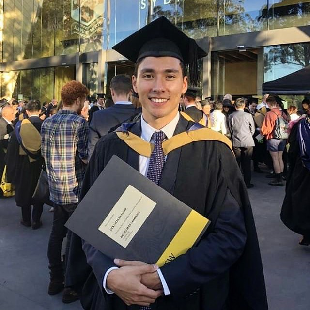 Huge congrats to Beta @jackrathie on recently graduating from the University of New South Wales in Sydney, Australia! Jack was a Beta at USD during the Fall of 2016 while he studied abroad at USD. He graduated from UNSW with a Bachelor of Commerce (Marketing) with distinction and a Bachelor of Laws (Honours). #boss