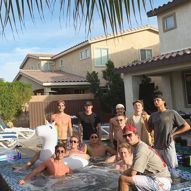 The Beta Boys on a fantastic Spring Break trip to Palm Springs. Hope everybody is having a great break😎