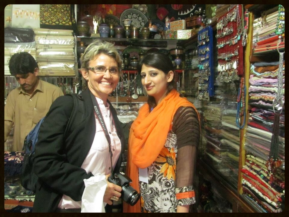 Khushboo Ali and me in Islamabad