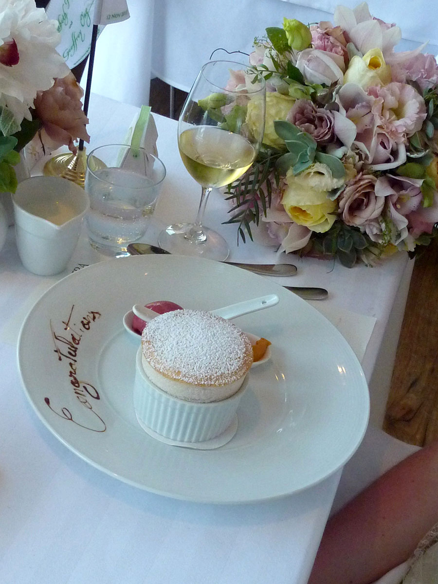 White Peach Souffle