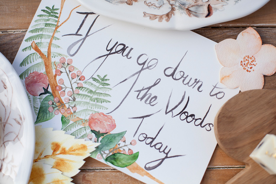 My  Inspiration Quote as I planned all the details for the party.
