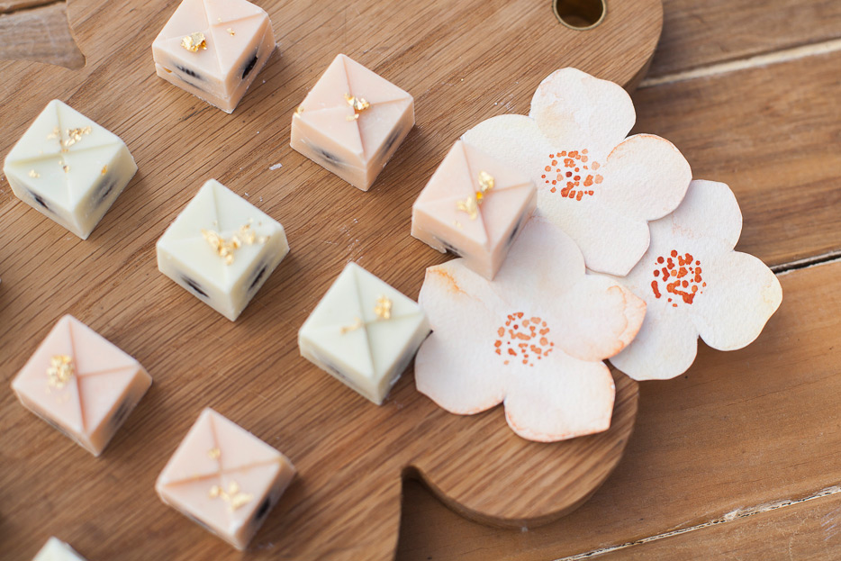 Chocolates and ELK Prints  Peach Hellebores