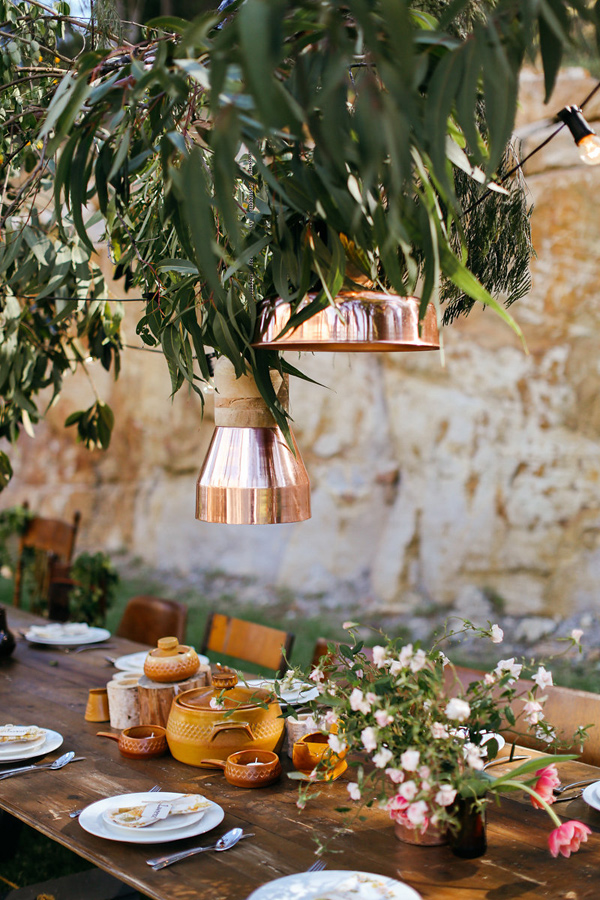 An Australian Whimsical Bohemian Wedding. Styling by She Designs and Photography by Lara Hotz.