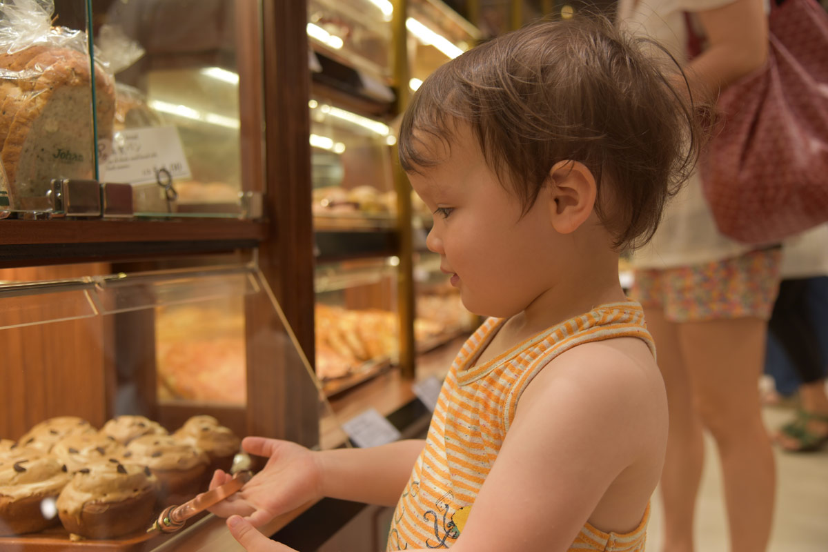 We all loved the variety and choice of interesting breads available in the bread shops in Singapore. Aiden in particular enjoyed making his selections.