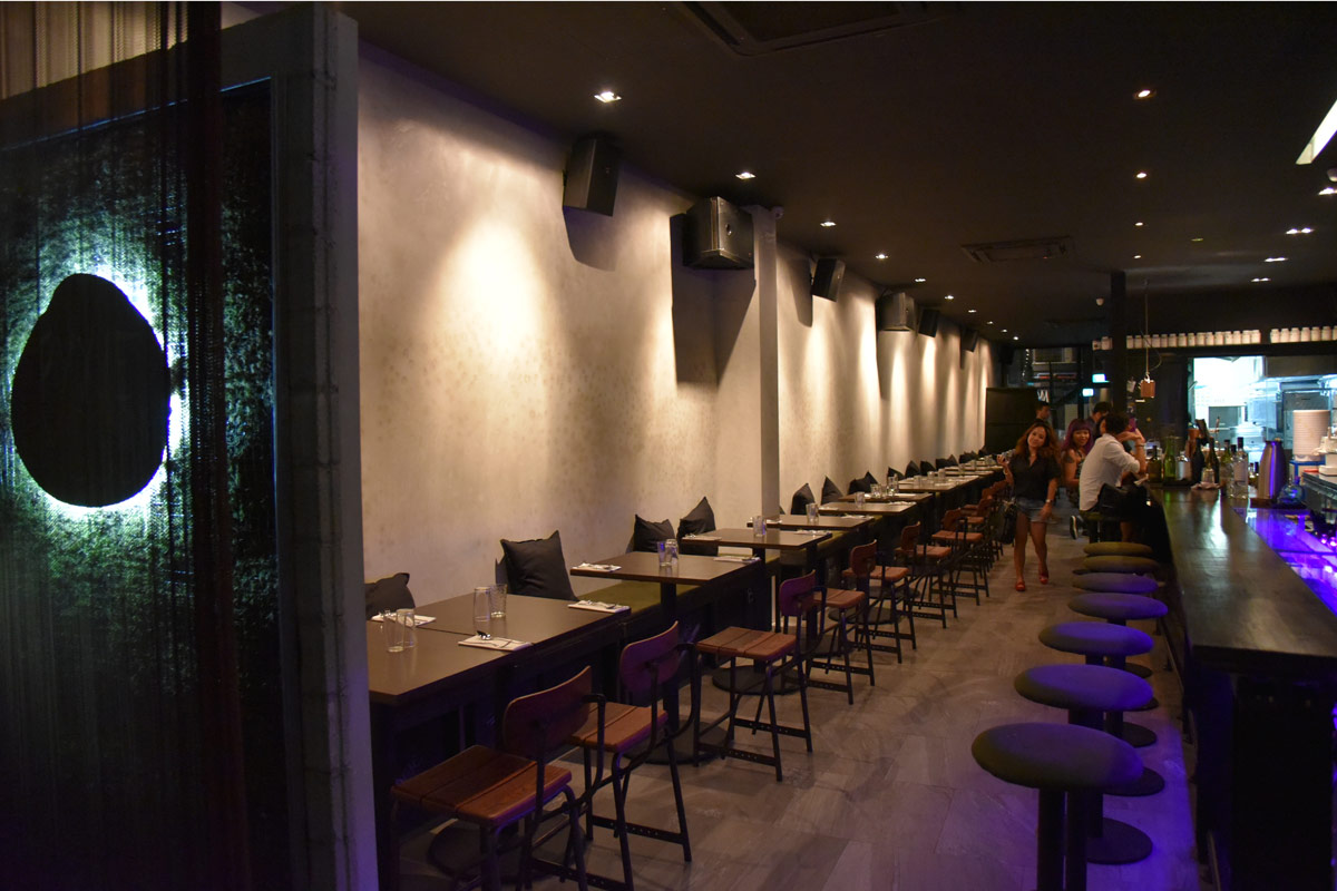 ...and finished the night at Pyxie Moss, Singapore's newest bar.