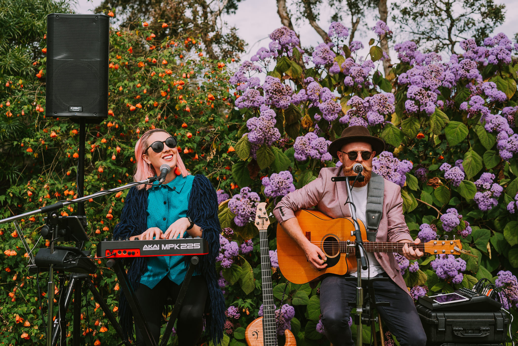 Josephine Ison from Event Entertainers provided beautiful music for us to enjoy.Photo by Angus Porter Photography
