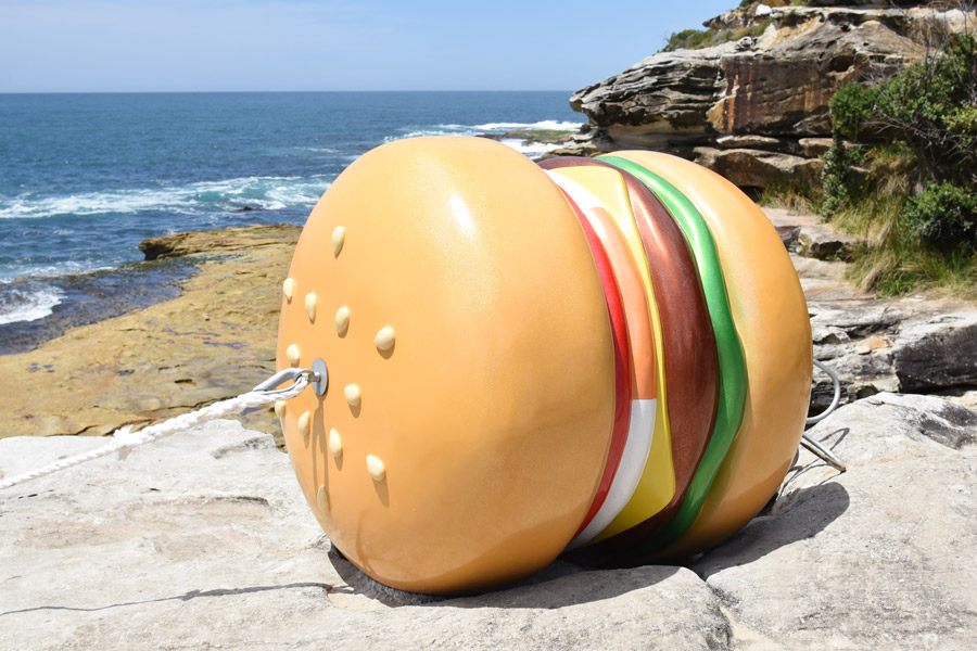 James Dive,  What a Tasty Looking Burger