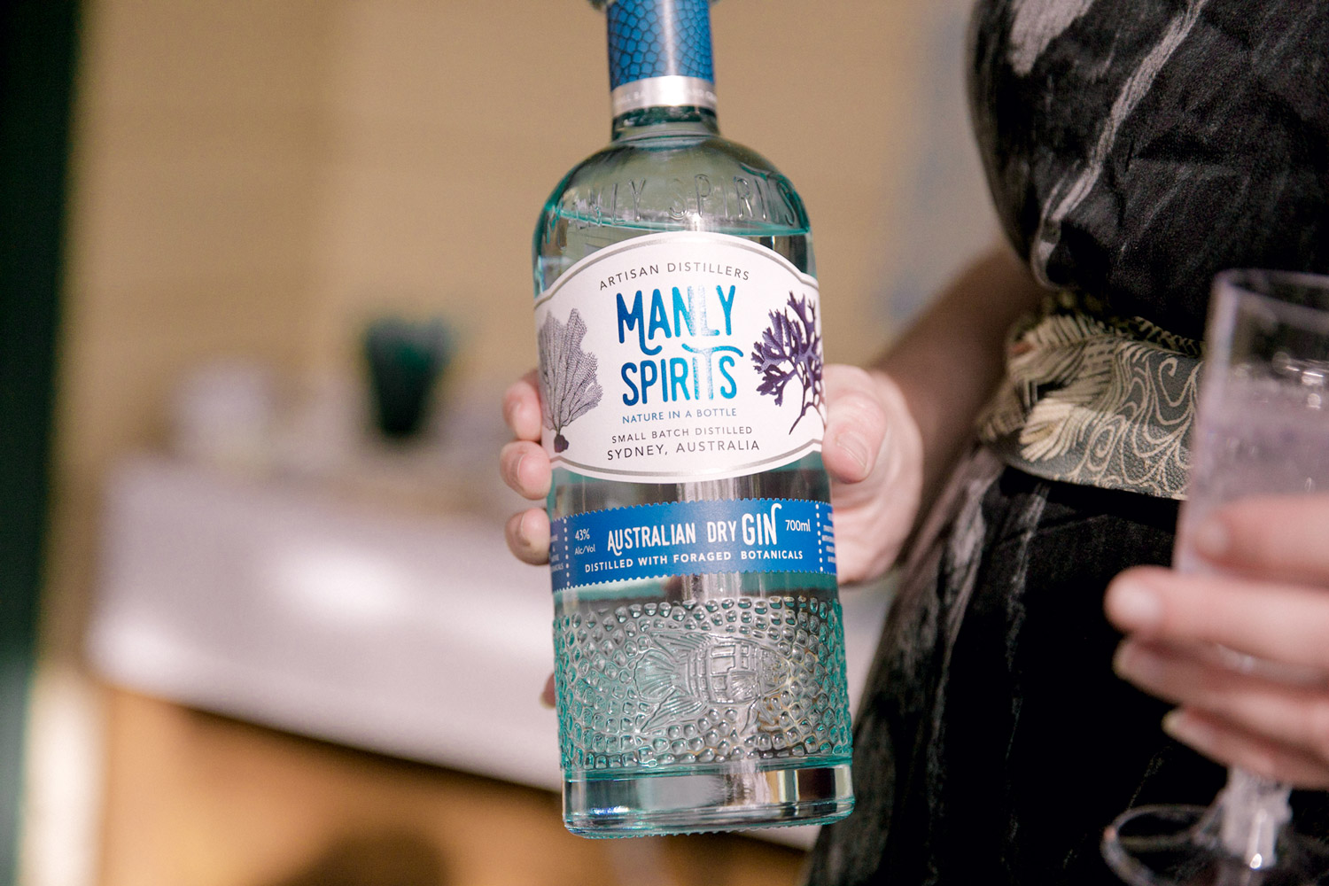 A 'seaweed' inspired gin for the adults to enjoy.