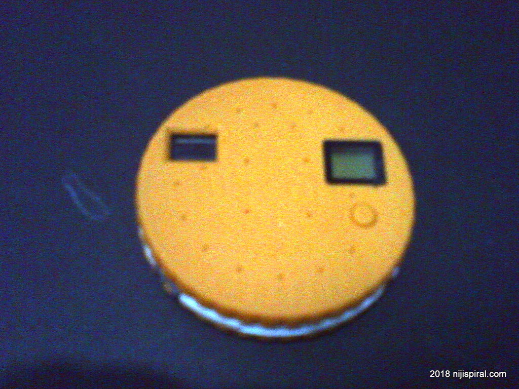 Byebye Fuuvi Biscuit Camera. Taken by Digital Harinezumi