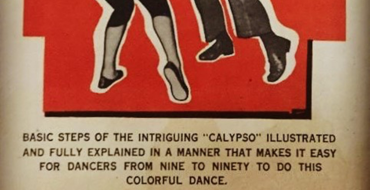 1956 instructions on how to dance calypso!