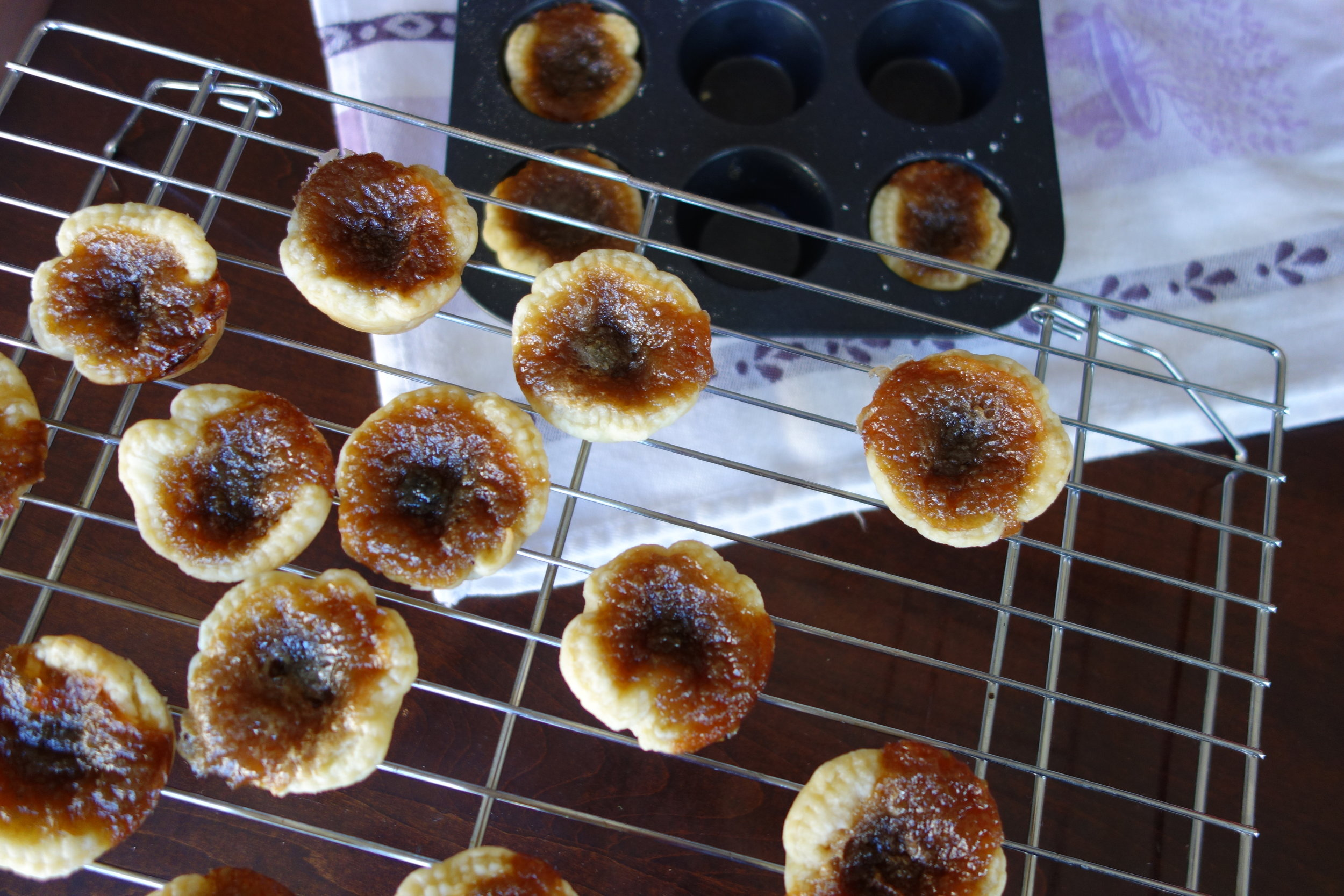 Mini Butter Tarts ChristineCushing.com