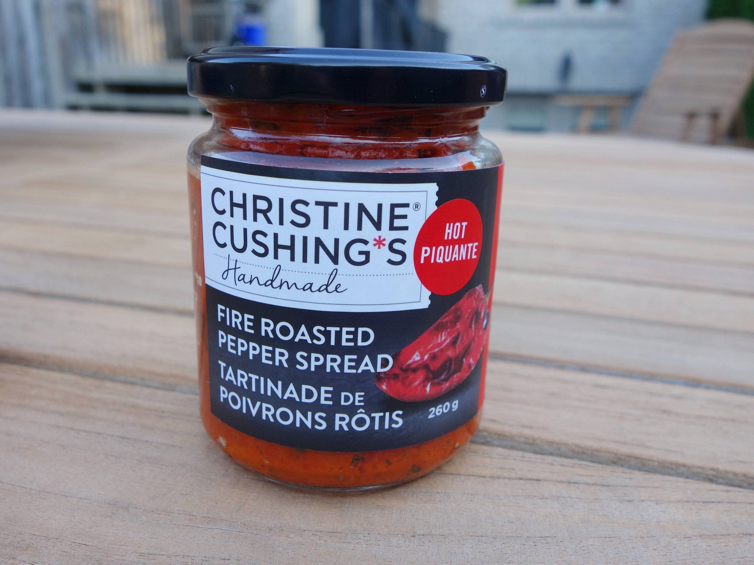 Spicy  - Mostly sweet with a good dose of chile added at the end of cooking, my hot spread is perfect on grilled meats, a burger or simply slathered on a warm piece of bread. Open up a jar and be seduced.