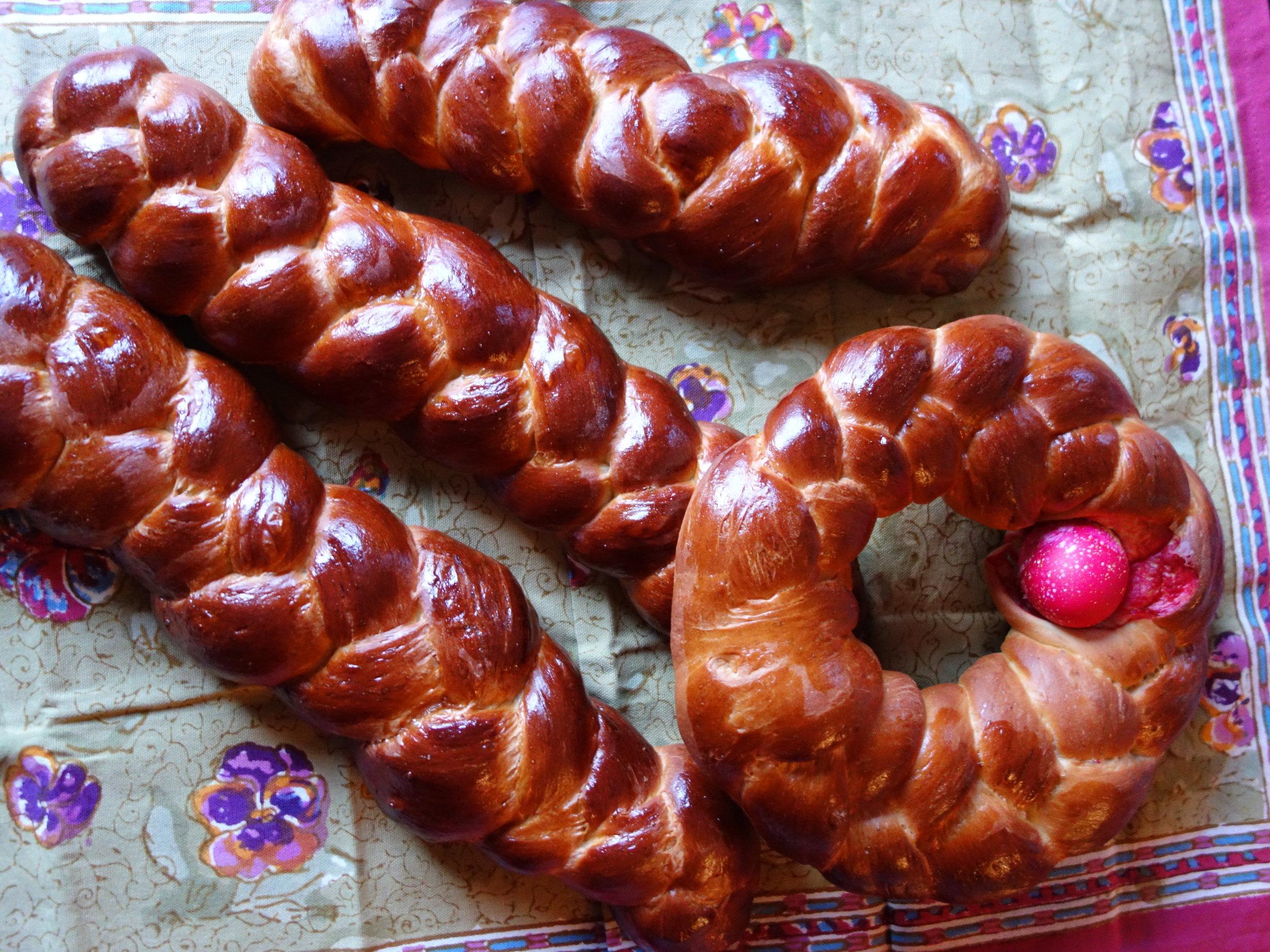 Greek Easter Bread ChristineCushing.com