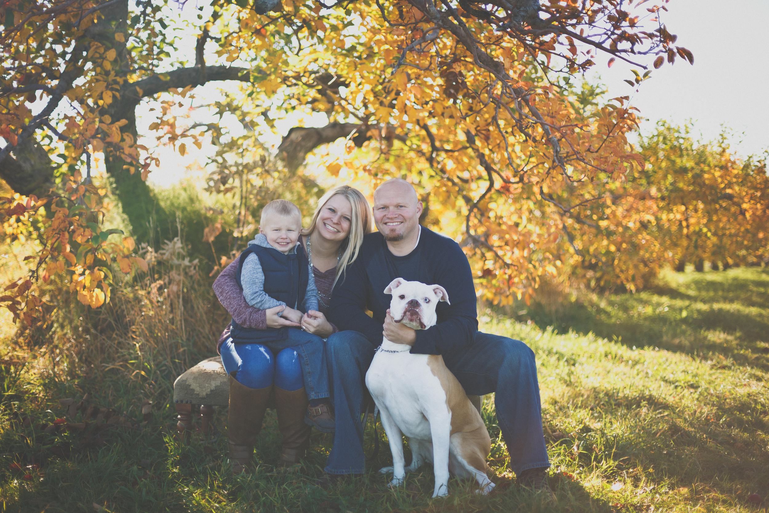 Simoneau Family // Fall Mini Session