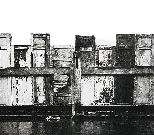 "More Doors    Photo etching  15"" x 17"""