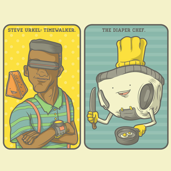 Steve Urkel: Timewalker & Diaper Chef.