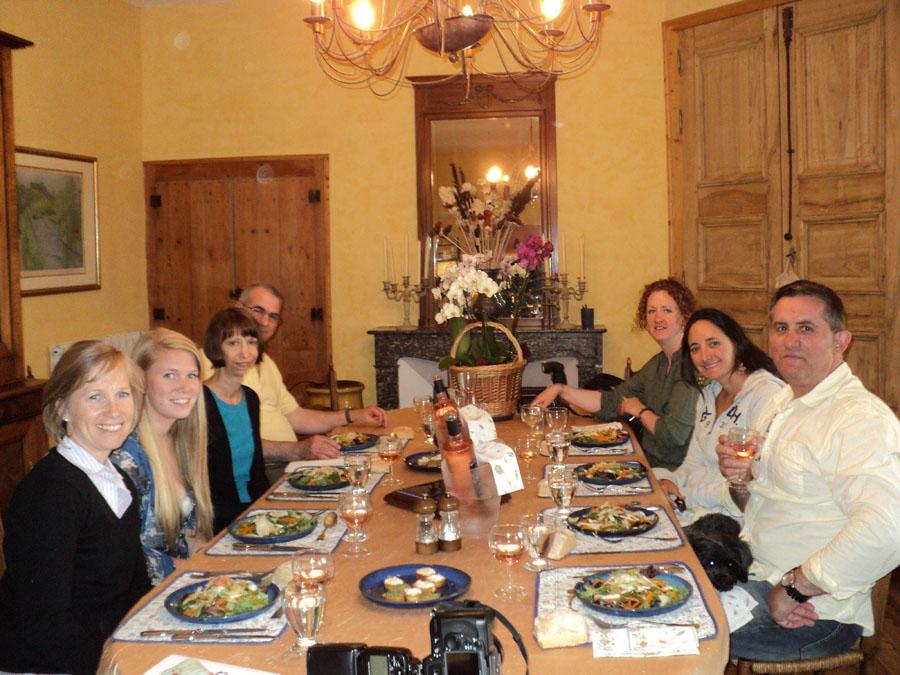 Private dinner in our Provencal inn