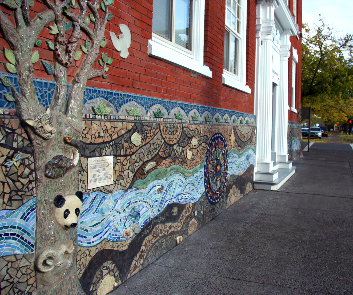 Salem Peace Mosaic, Salem, Oregon