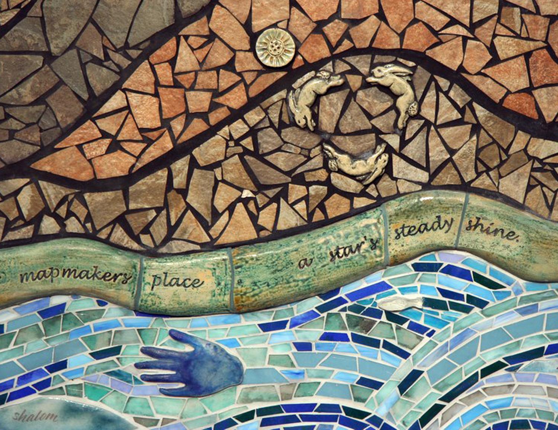 Detail from Oregon Poet Laureate Paulann Petersen's poem