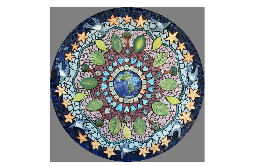 salem peace mosaic , salem, oregon