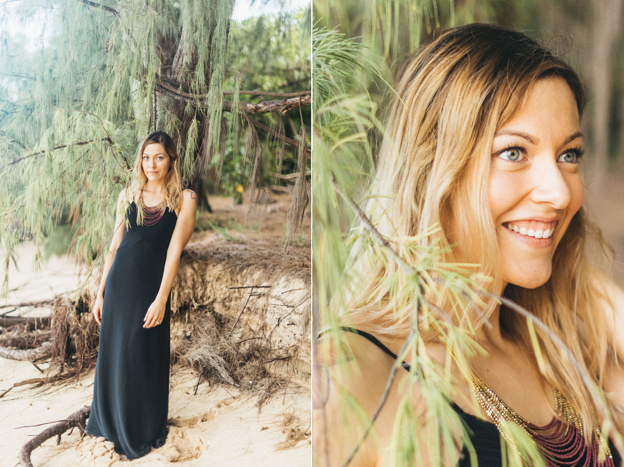 beautiful bride to be maui beach babe