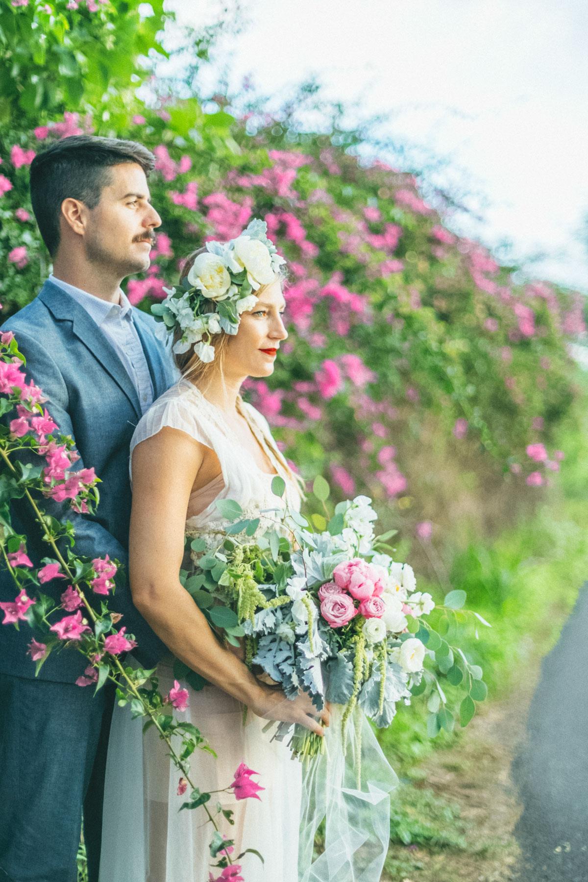 maui luxe boho chis bride maui wedding inspiration
