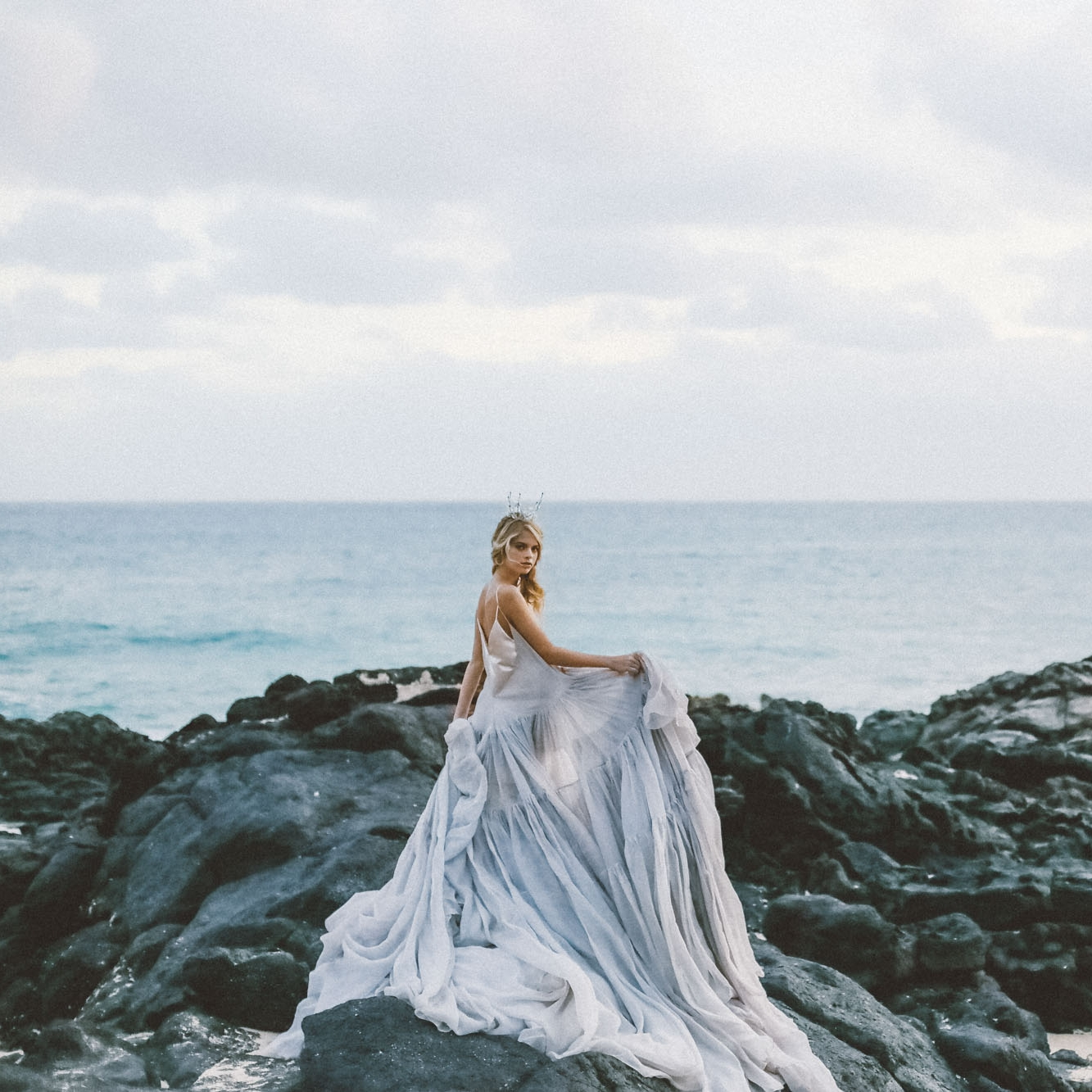 carol hanna Bridal couture gown