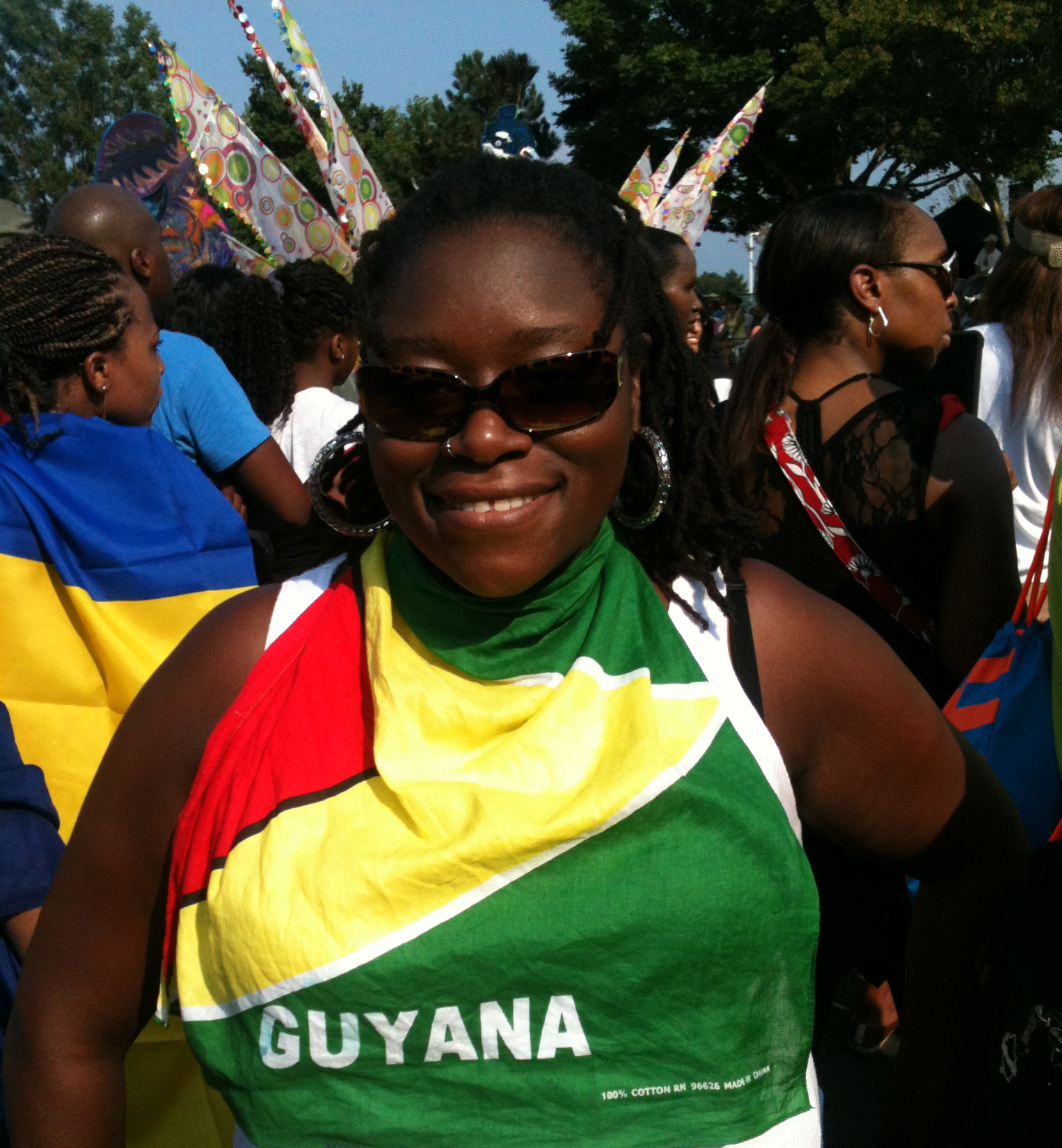 Copy of DysChick at Caribana (Toronto 2012)