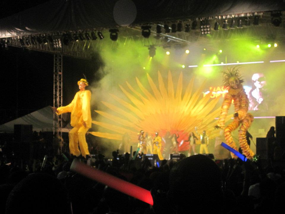 Machel at Fantastic Friday 2012