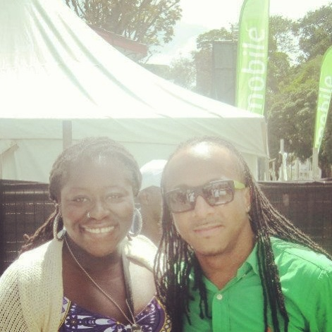 w/ Kerwin DuBois at BSquare (Trinidad 2012)