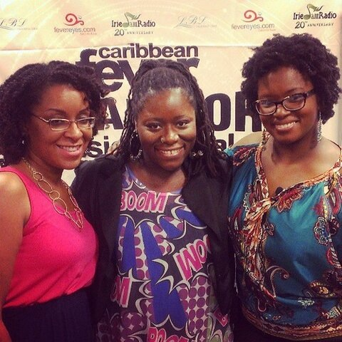 DysChick with fellow lady bloggers RACA and SocaMom