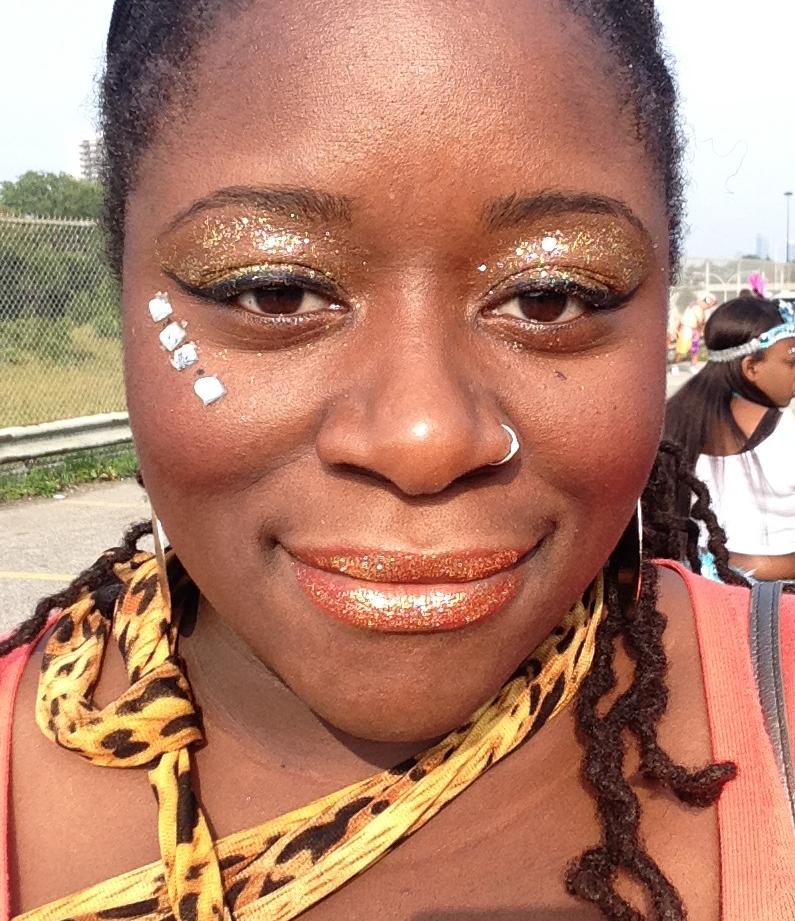After the makeup