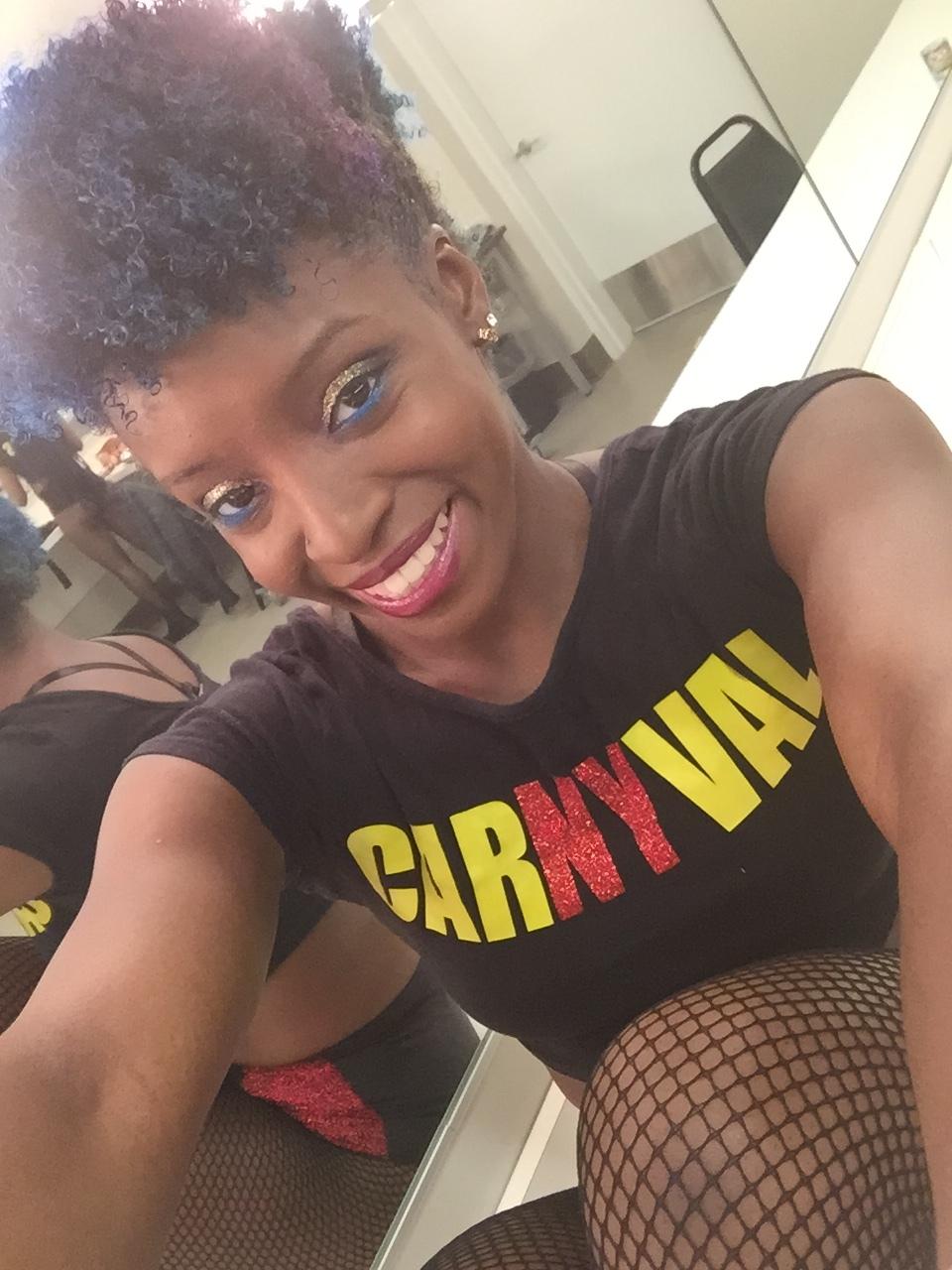 Kiara Ross of CarNYval Dancers
