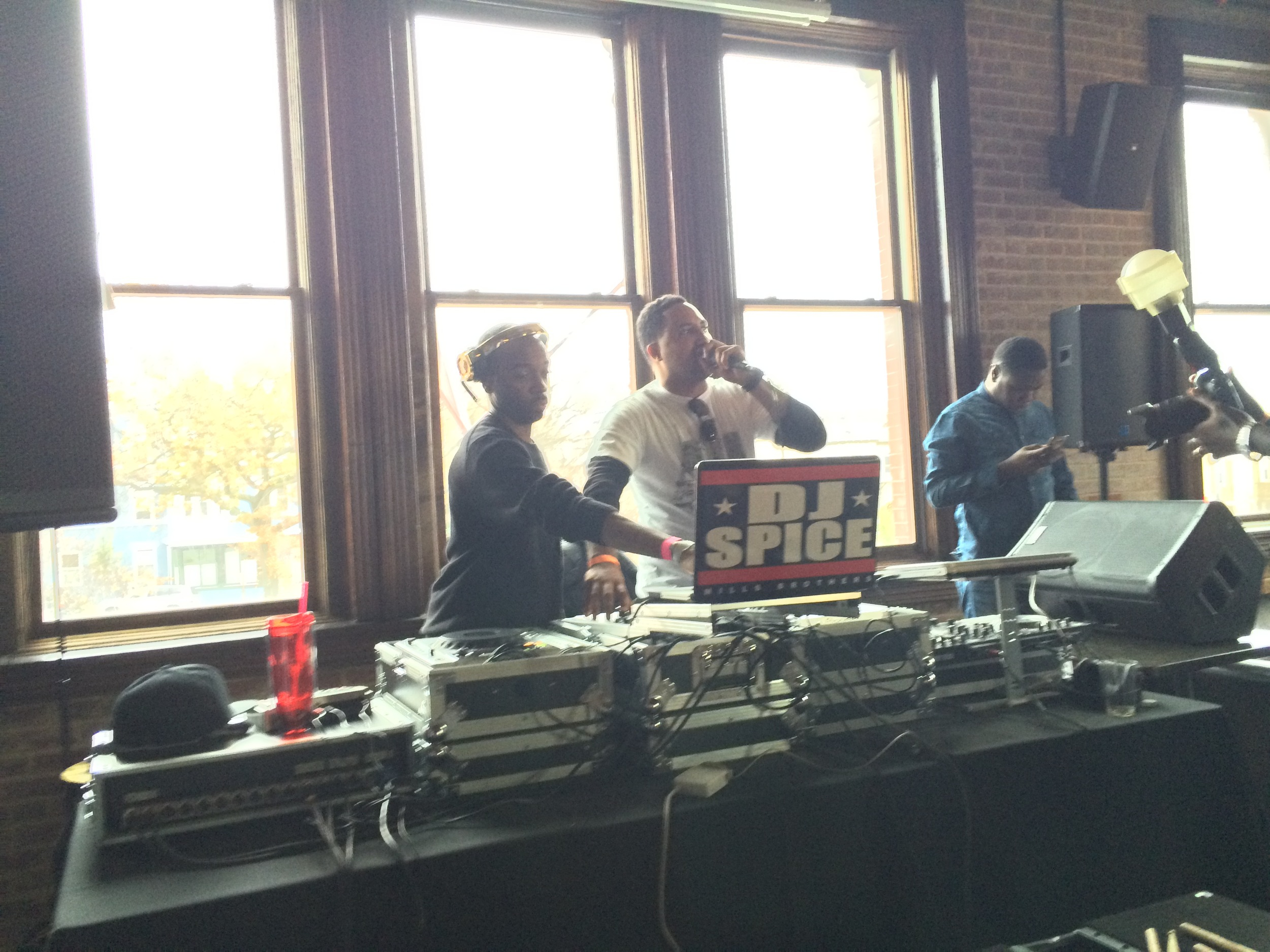 DJ Spice and Barrie Hype at Aftershock