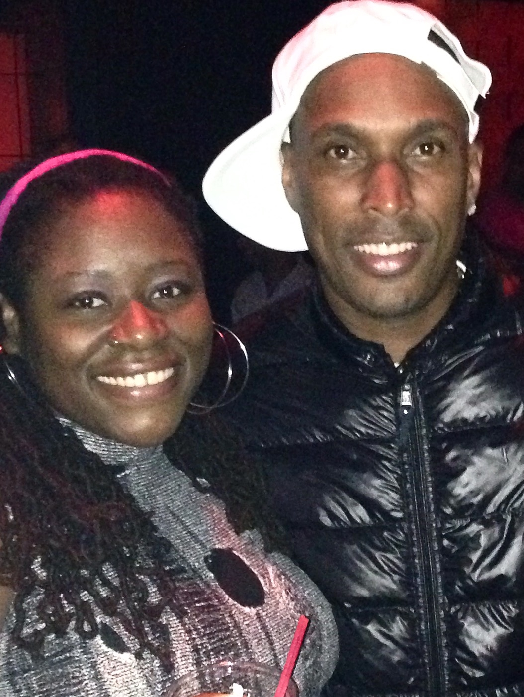Copy of w/ Shal Marshall (Queens 2014)