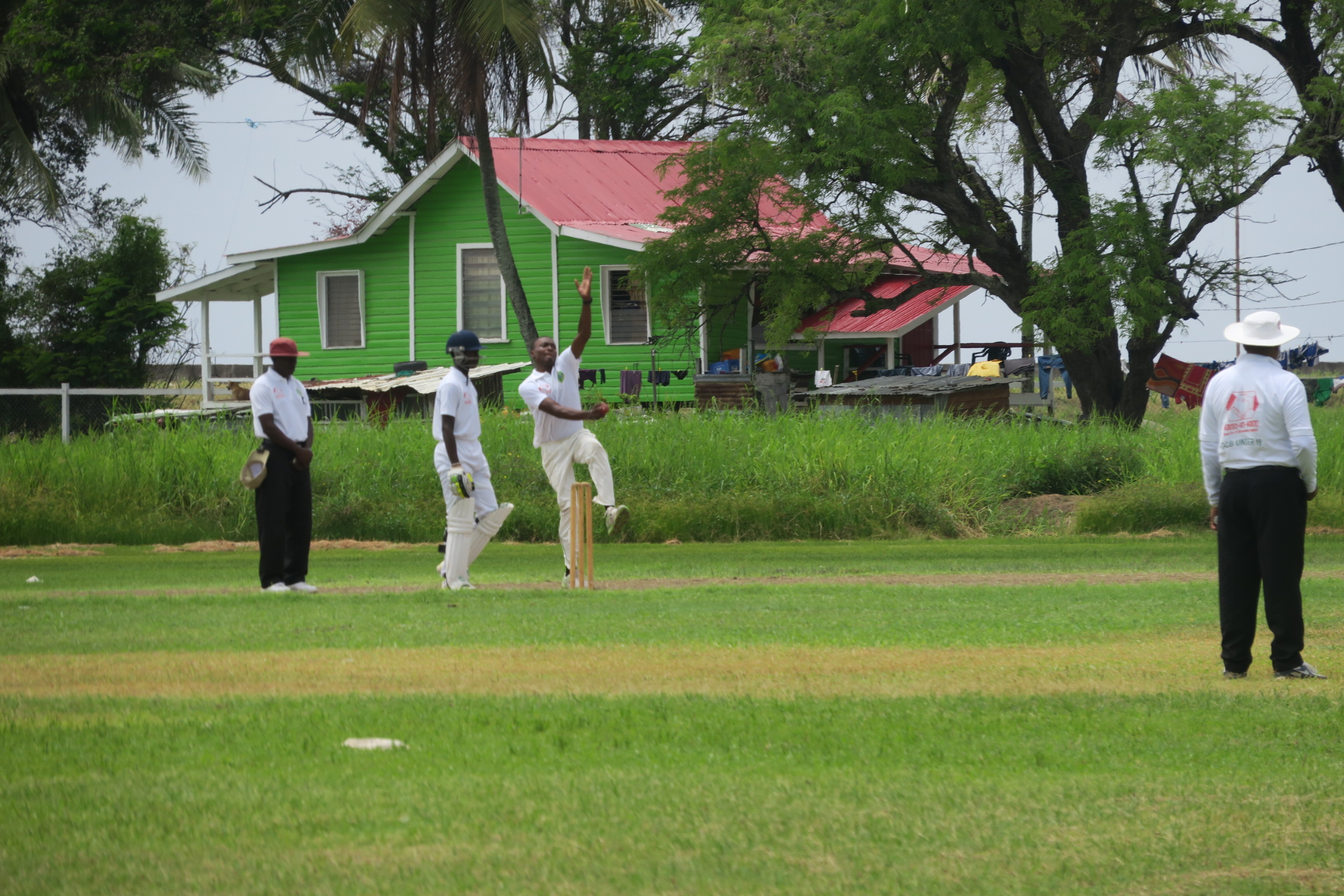 A former British colony, Guyana's national past time is cricket. Grab a cooler of food and drinks and head over to the  Georgetown Cricket Club  to take in a match.