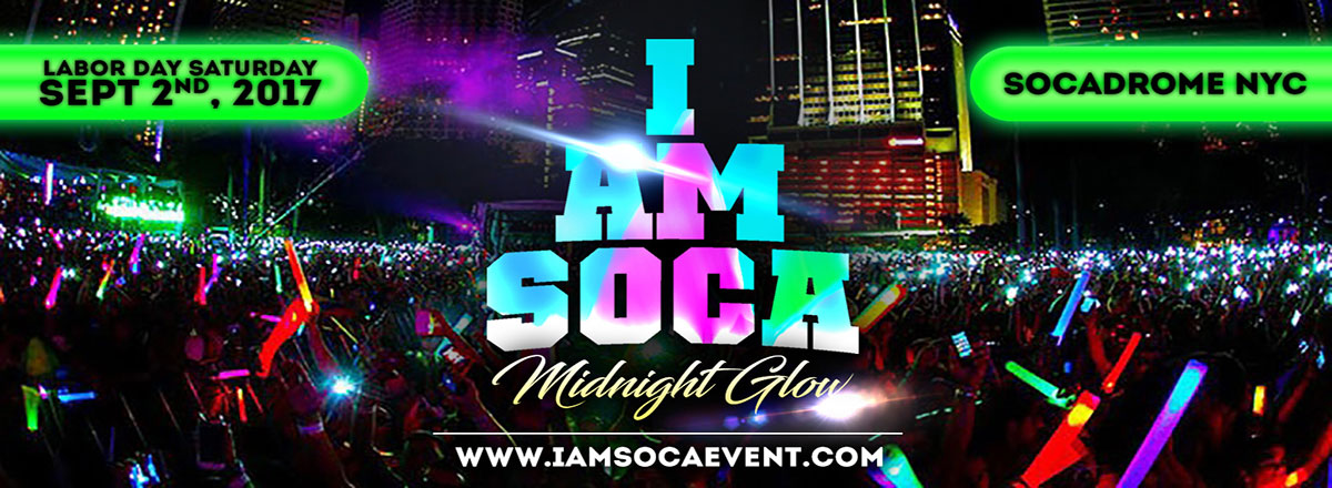 Looking for fun in Brooklyn on Saturday night? Head to one of my favorite events Labor Day Saturday night. Check out my review of I Am Soca and other events  here .   Click  here  to purchase tickets