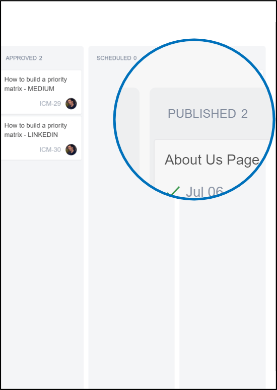 """JIRA Core boards have different """"Done"""" stages"""