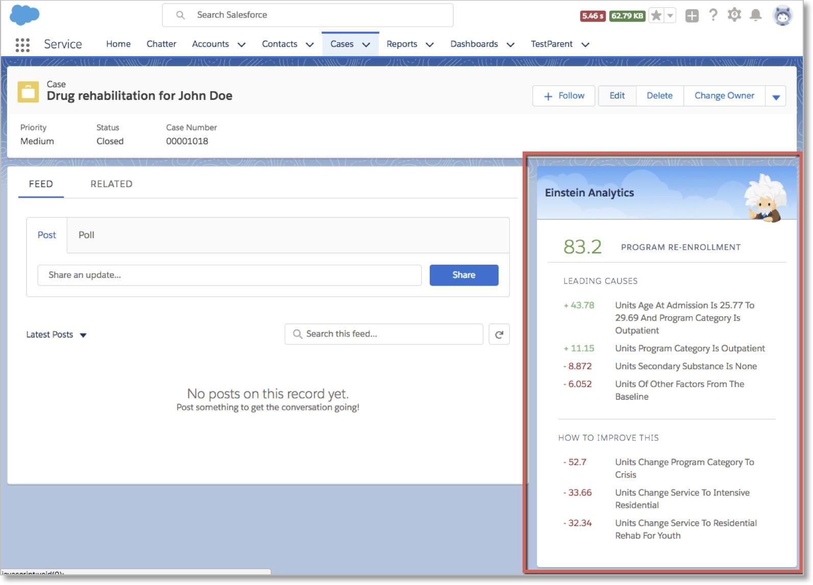 Salesforce Einstein Discovery Augmented Analytics