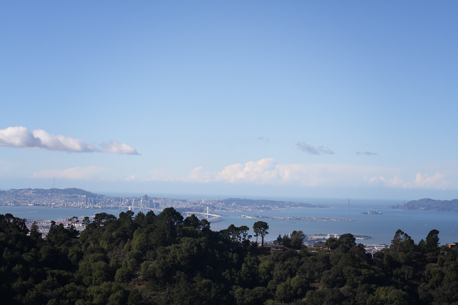 Since I don't really have an image that truly depicts the word no (or 'nope'), here's a beautiful photo of San Francisco I took on a hike recently. Isn't it lovely? Yeah...