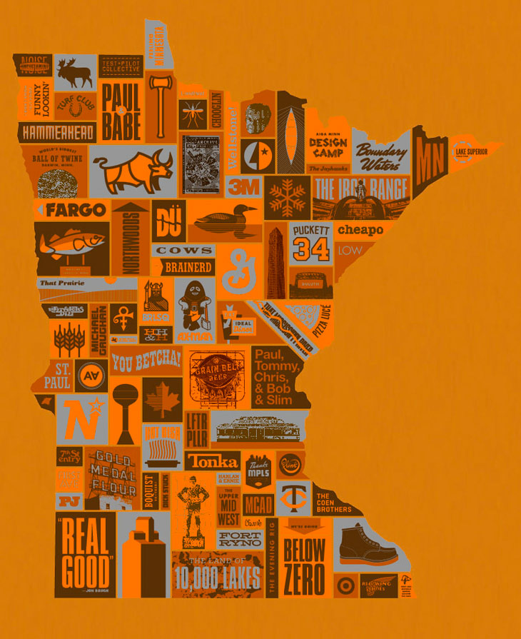 Seriously look them up. They are awesome. Draplin Design Co.