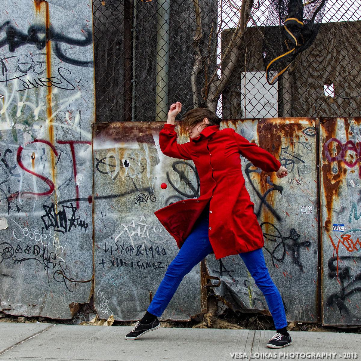 'RAPID DEVELOPMENT' Modern dance photo shoot with Xan Burley