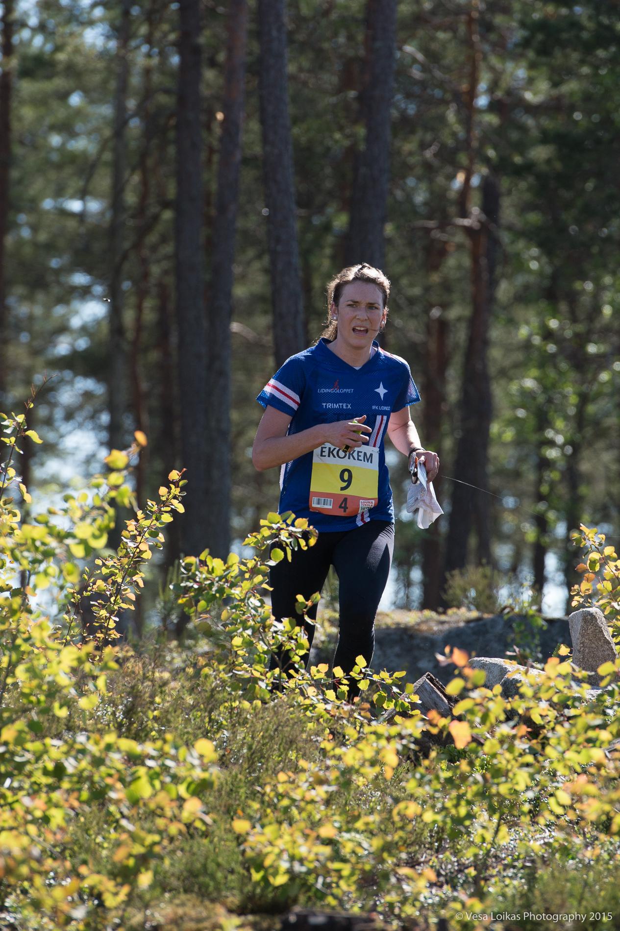 10) IFK Lidingö SOK SWE  Helena Karlsson