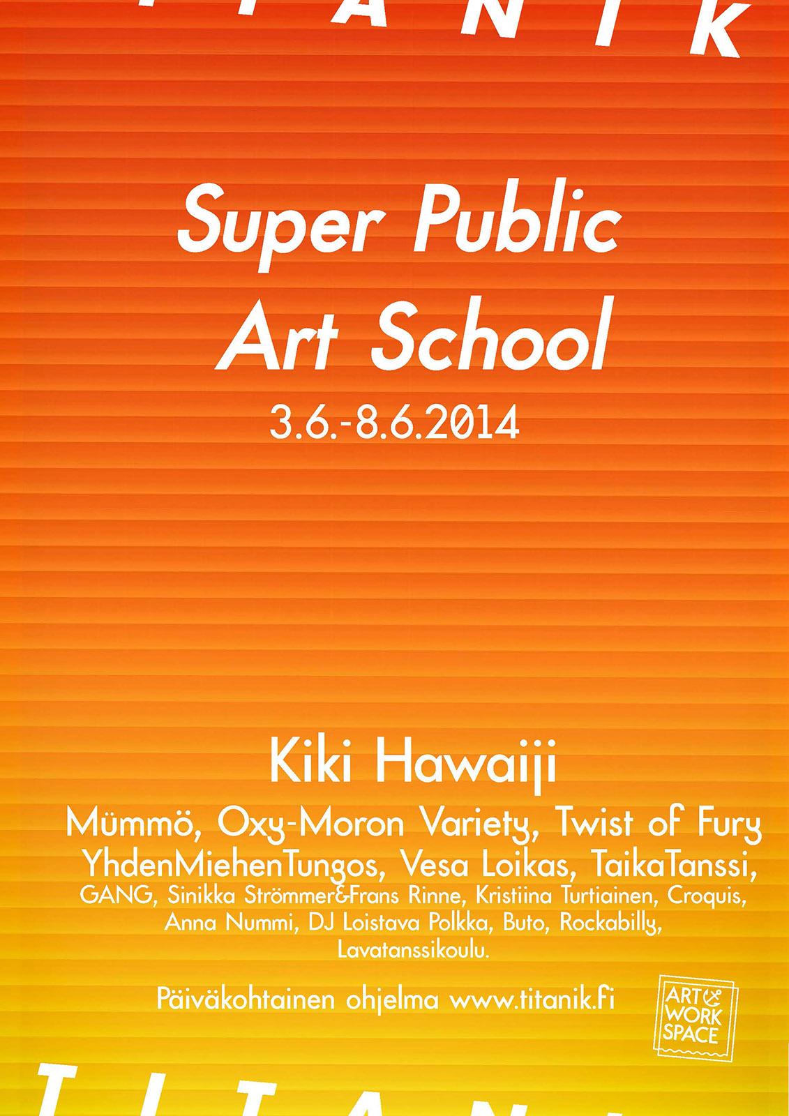 TITANIK Gallery Exhibit Poster 2014