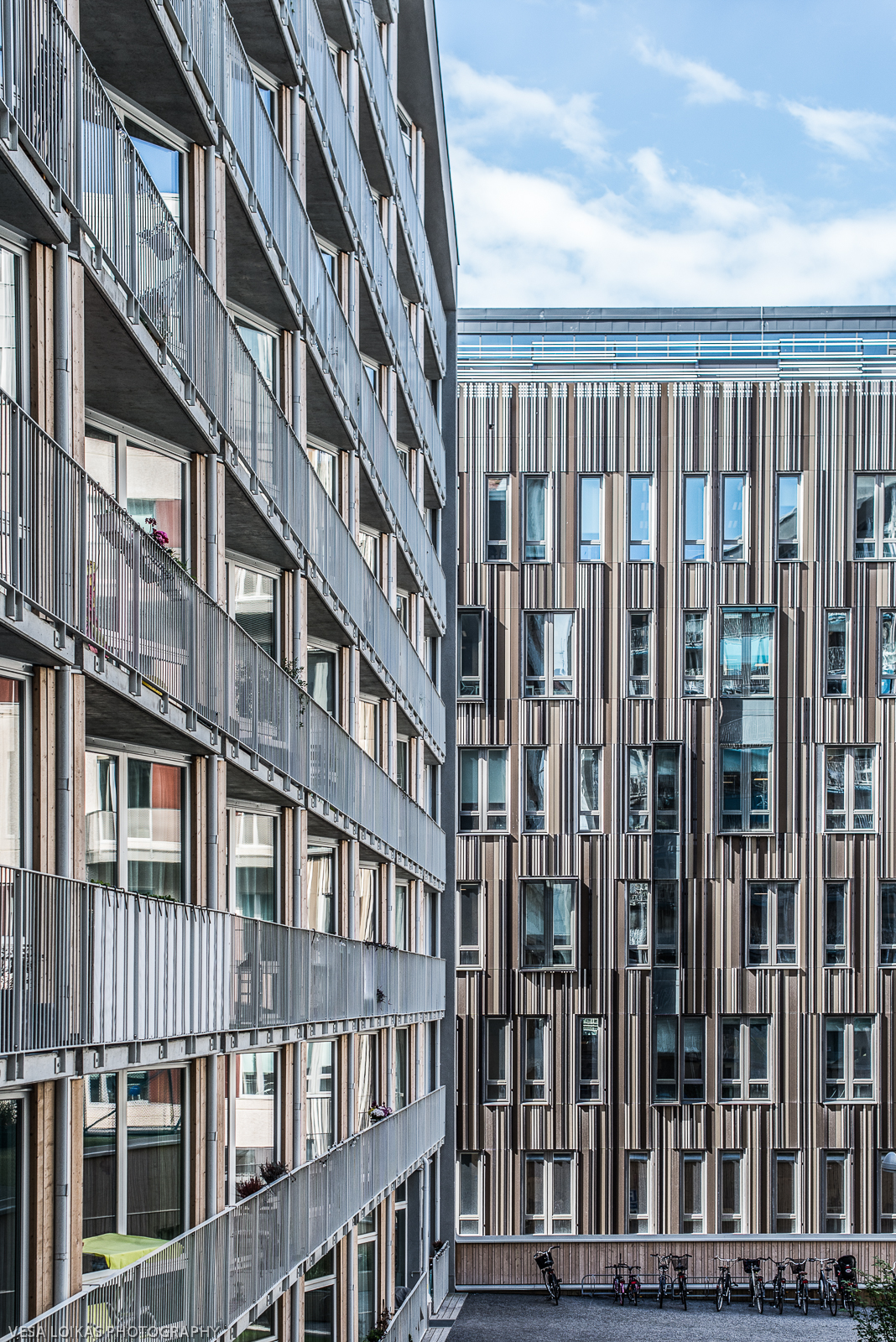 Västermalms Atrium is a large residential project built in 2015 and it is located in Kungsholmen, central Stockholm.