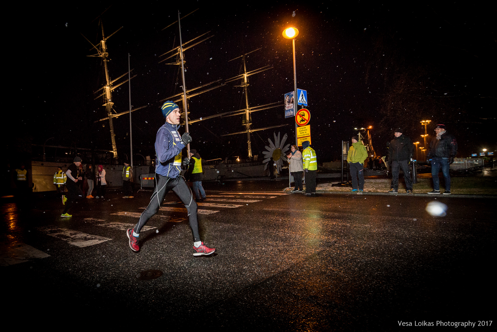 Sami Aalto 5 km kohdalla | Sami Aalto after 5k