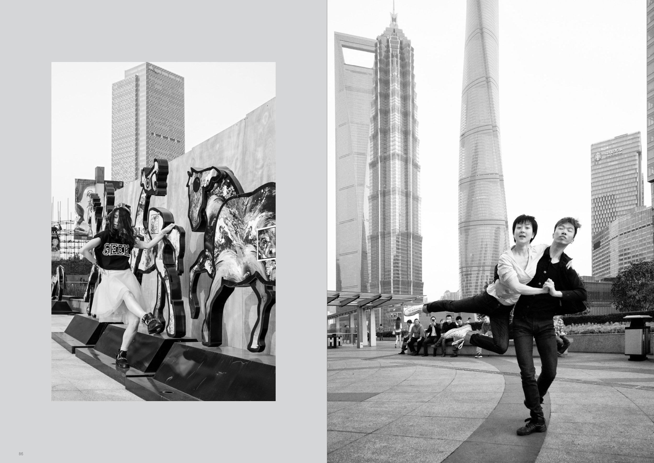 SHANGHAI | left: Nangang Su right: Nan Lou & Raymond